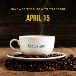 coffee chat - april 15