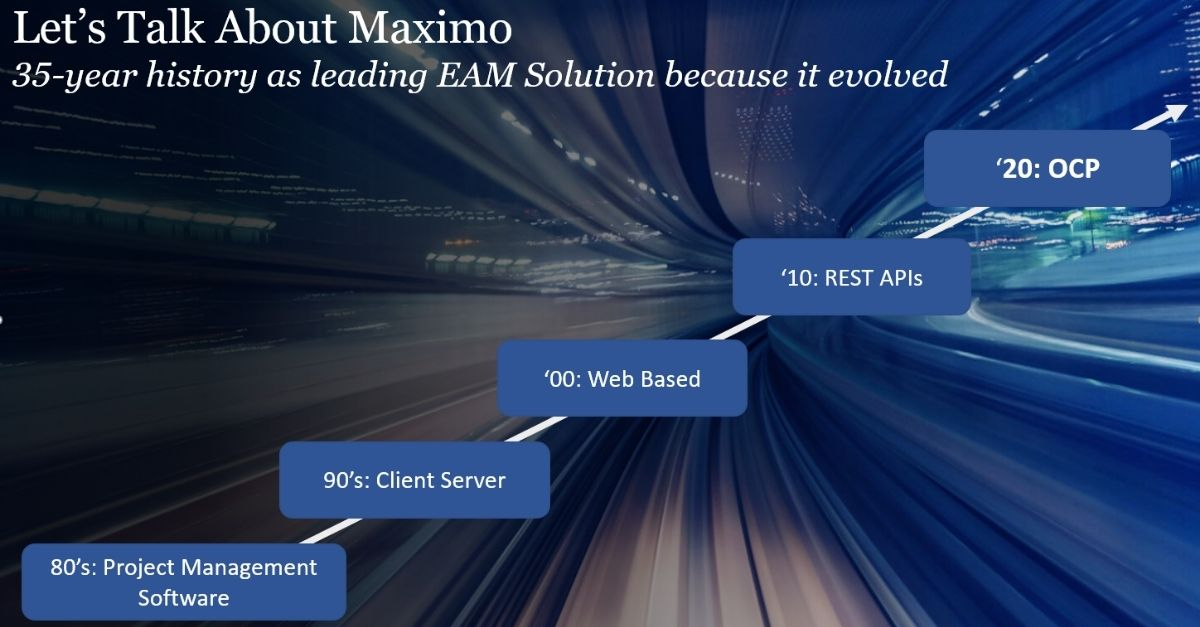 Maximo 8 Technical Overview