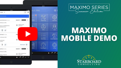 Starboard Maximo Mobile Demo