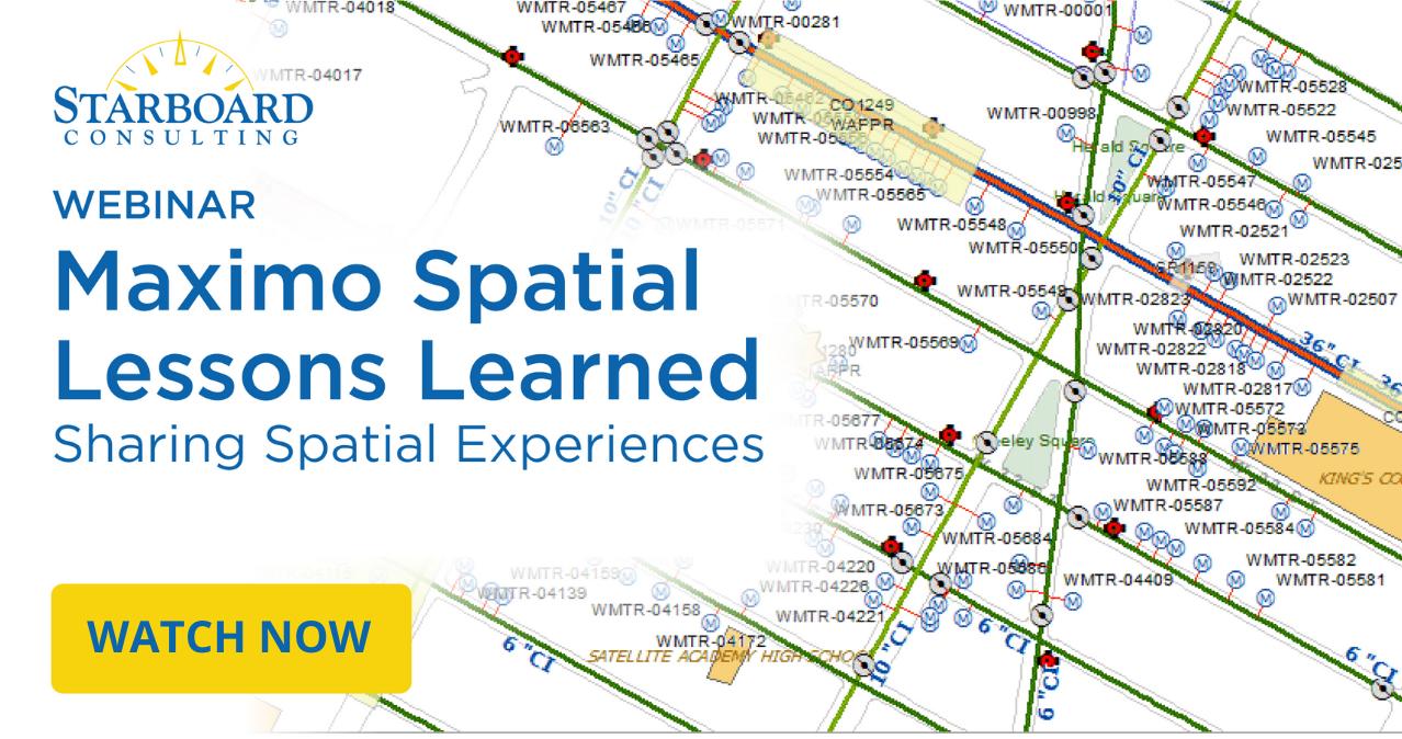 Starboard Maximo Spatial Webinar